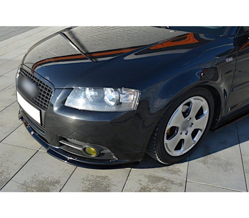 Front splitter for Audi A3 8P S line
