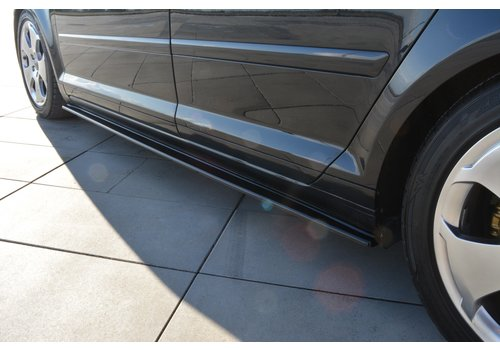 Maxton Design Seitenschweller Diffusor für Audi A3 8P Sportback
