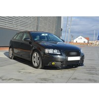 Side skirts Diffuser for Audi A3 8P Sportback