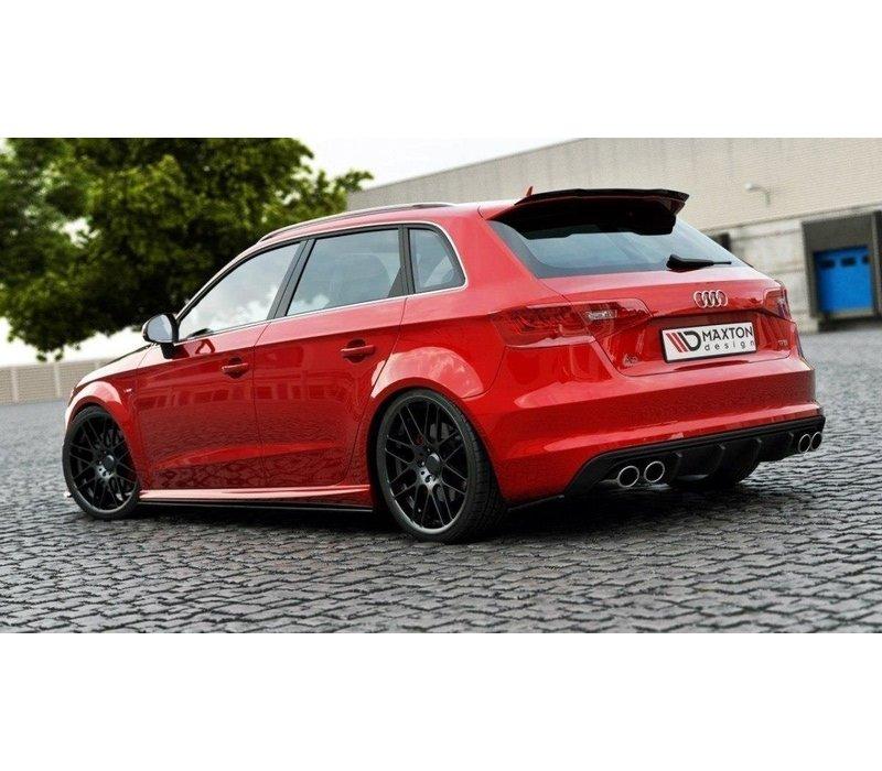 Rear splitter for Audi S3 8V / S line