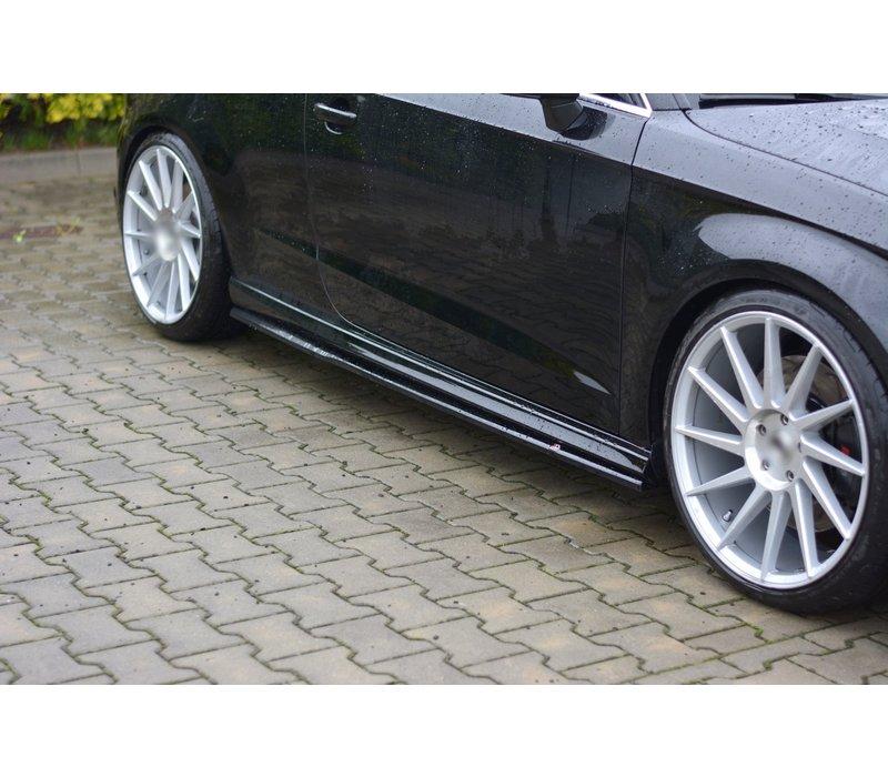 Side skirts Diffuser for Audi S3 8V / A3 8V S line Hatchback