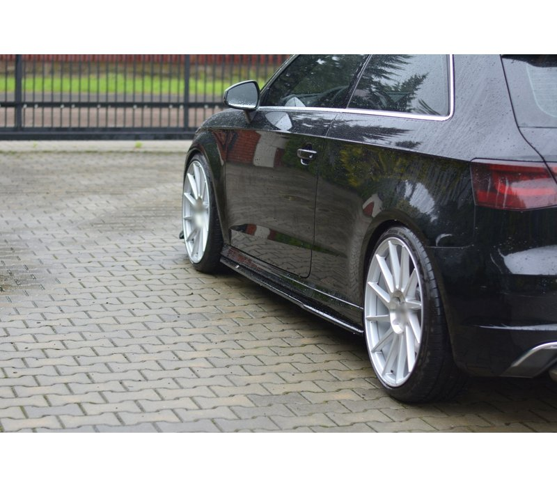 Side skirts Diffuser voor Audi S3 8V / A3 8V S line Hatchback
