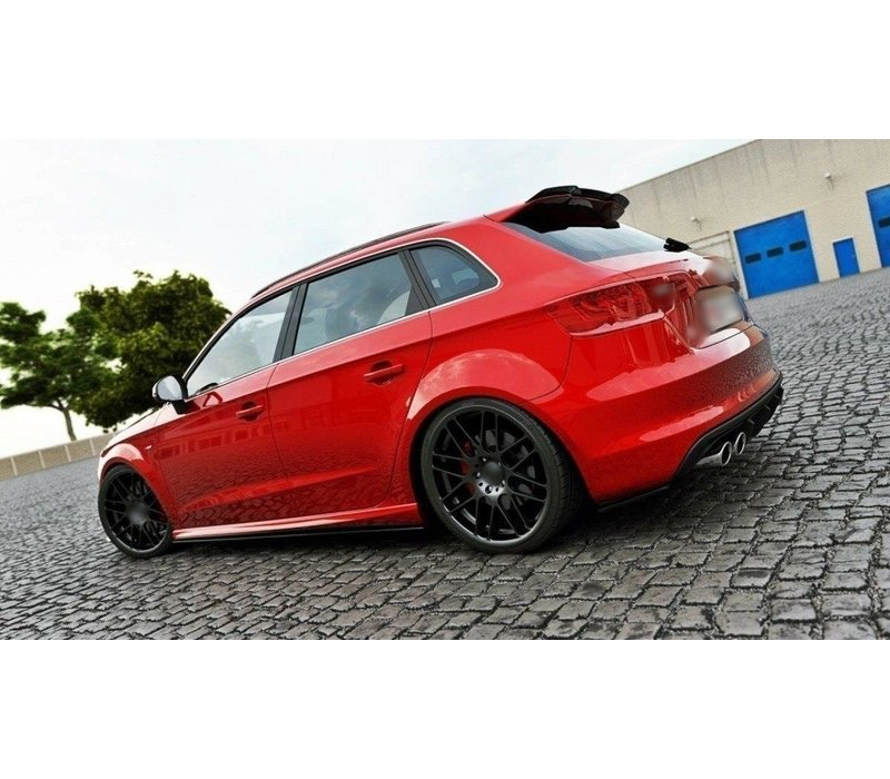 Side skirts Diffuser for Audi S3 8V / A3 8V S line Sportback