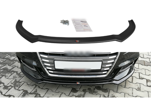 Maxton Design Front splitter V.2 for Audi S3 8V / S line