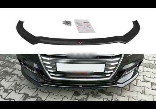 Maxton Design Front splitter V.2 voor Audi S3 8V / S line