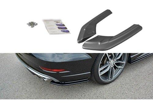 Maxton Design Rear splitter voor Audi S3 8V / S line