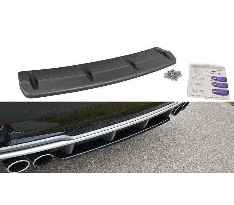 Rear splitter voor Audi S3 8V