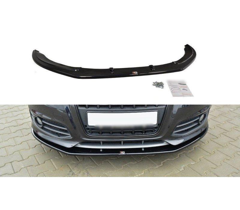 Front splitter V.2 for Audi S3 8P