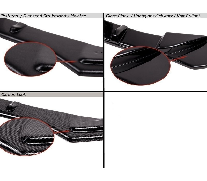Side skirts Diffuser for Audi S3 8P / RS3 8P
