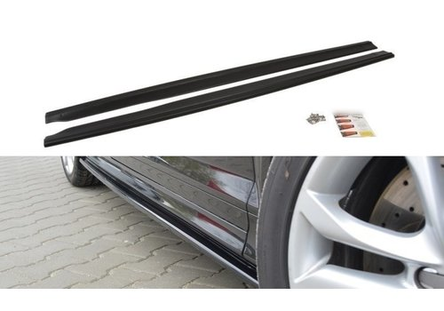 Maxton Design Side skirts Diffuser for Audi S3 8P / RS3 8P
