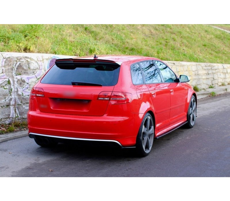 Side skirts Diffuser voor Audi S3 8P / RS3 8P
