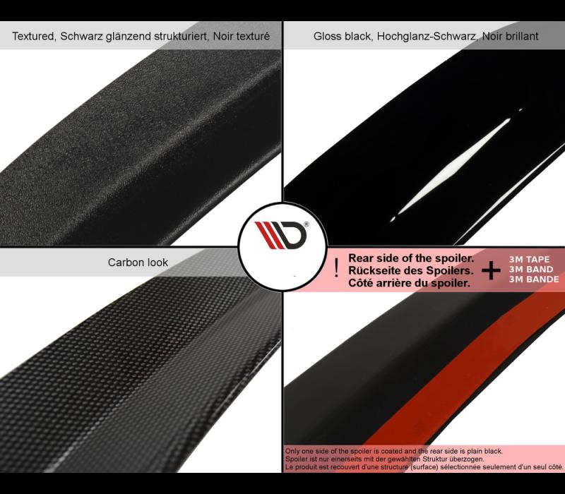 Dakspoiler Extension voor Audi S3 8P
