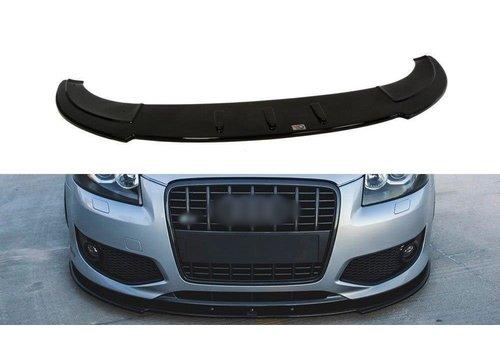 Maxton Design Front splitter voor Audi S3 8P
