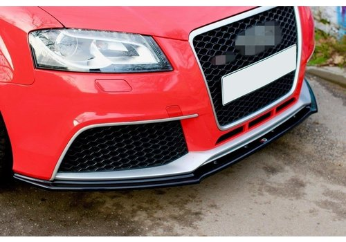 Maxton Design Front splitter for Audi RS3 8P