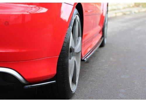 Maxton Design Rear splitter voor Audi RS3 8P