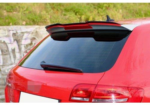 Maxton Design Dakspoiler Extension voor Audi RS3 8P