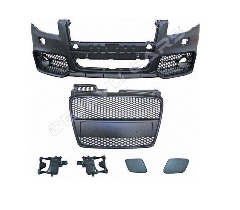 RS4 Look Voorbumper voor Audi A4 B7