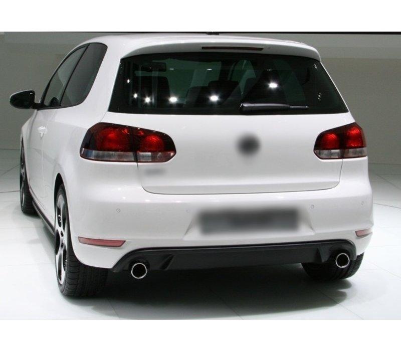 GTI Look Rear bumper for Volkswagen Golf 6