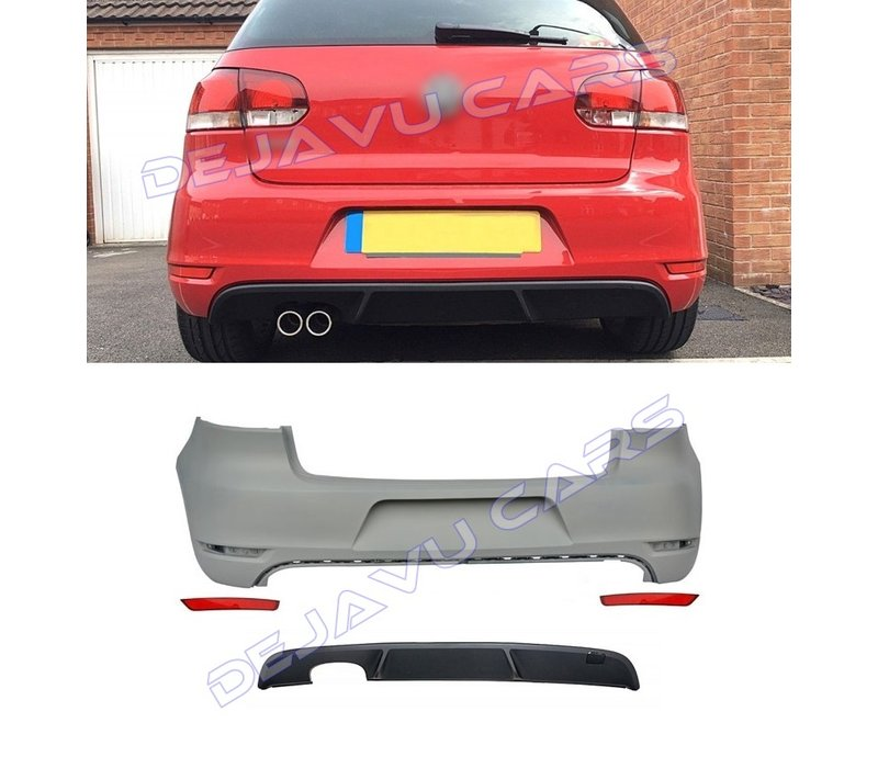 GTD Look Rear bumper for Volkswagen Golf 6