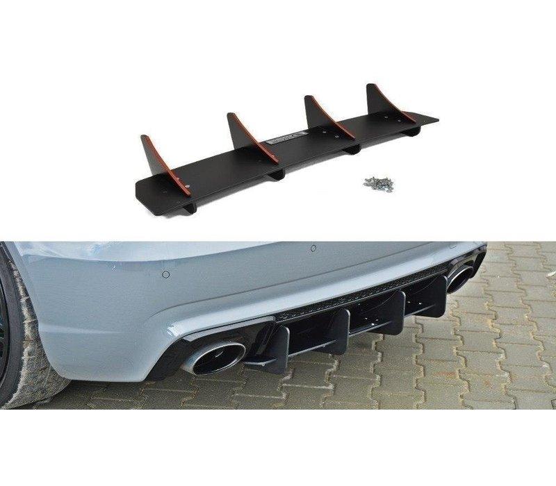 Aggressive Diffusor für Audi RS3 8V