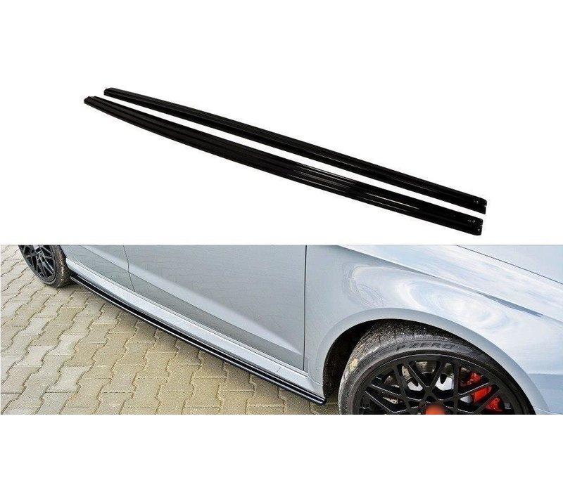 Side skirts Diffuser for Audi RS3 8V