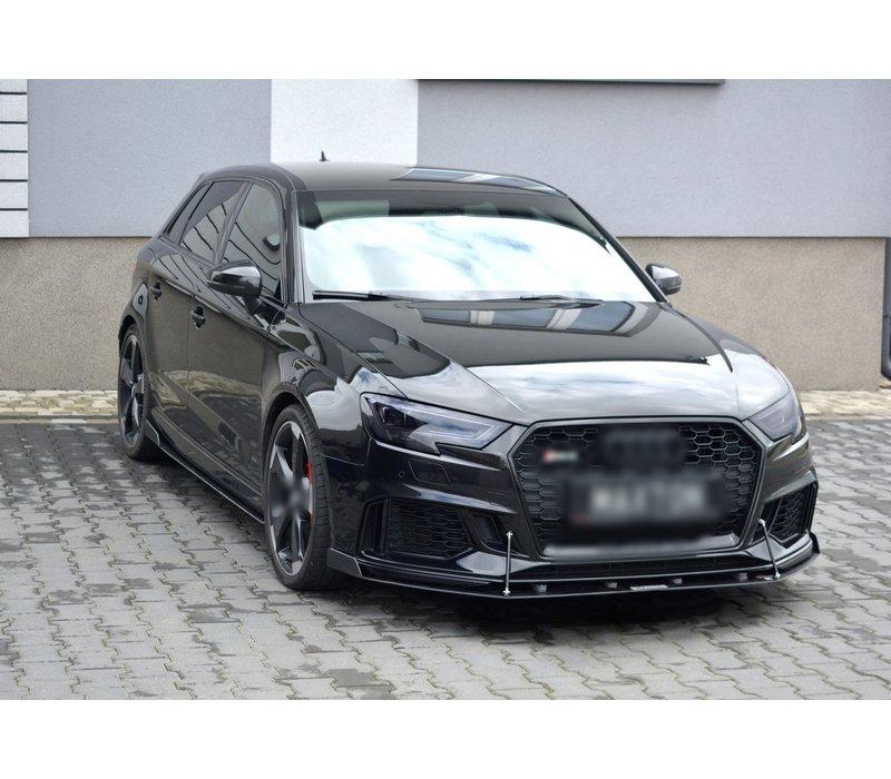 Front Racing Splitter for Audi RS3 8V