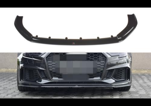 Maxton Design Front splitter V.2 voor Audi RS3 8V