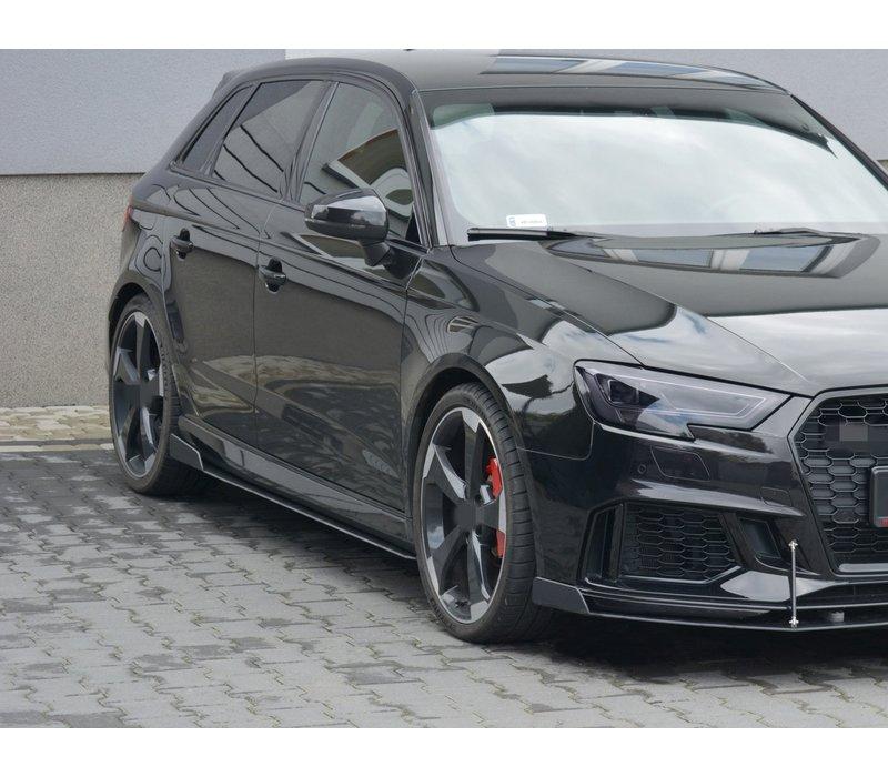 Racing Side skirts Diffuser V.2 voor Audi RS3 8V