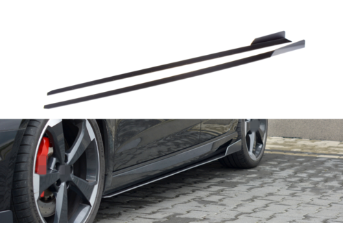 Maxton Design Racing Side skirts Diffuser V.2 voor Audi RS3 8V