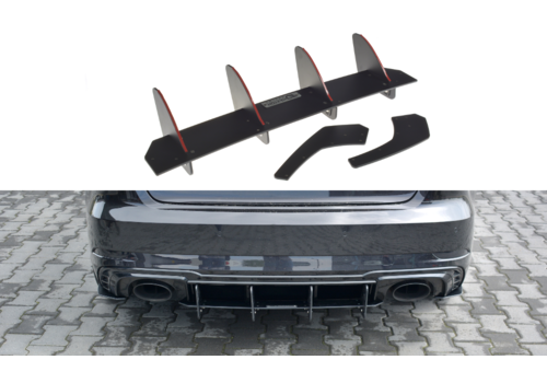 Maxton Design Aggressive Diffusor V.1 für Audi RS3 8V