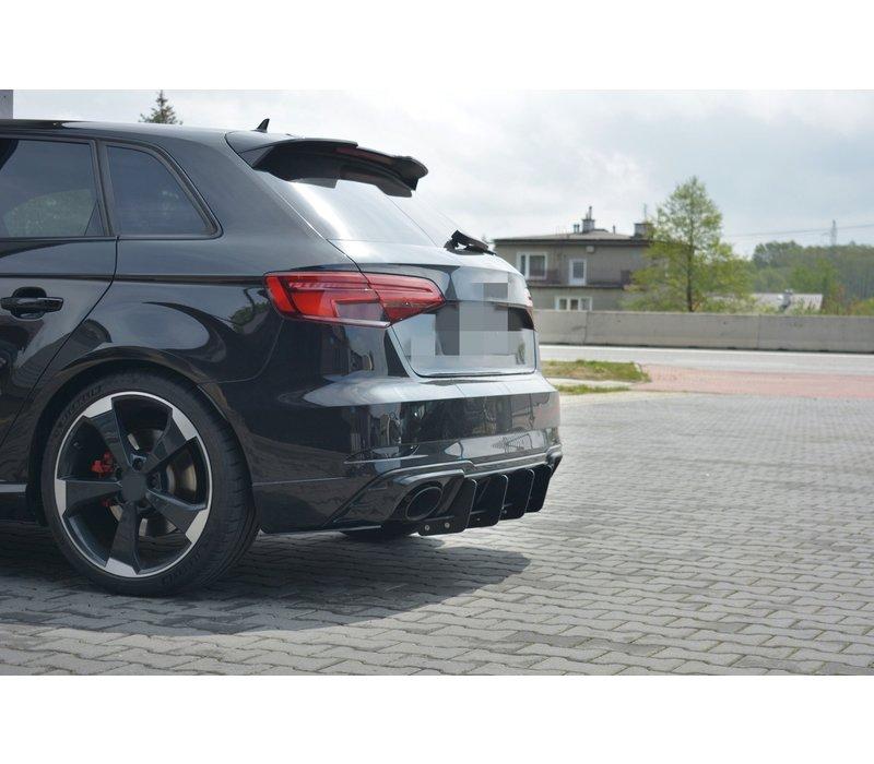 Aggressive Diffuser V.1 voor Audi RS3 8V