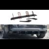Maxton Design Aggressive Diffuser V.2 voor Audi RS3 8V