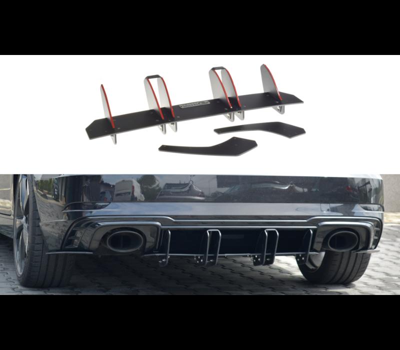 Aggressive Diffuser V.2 for Audi RS3 8V