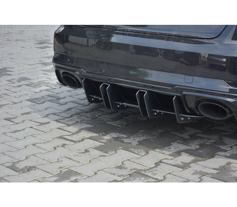 Aggressive Diffuser V.2 voor Audi RS3 8V
