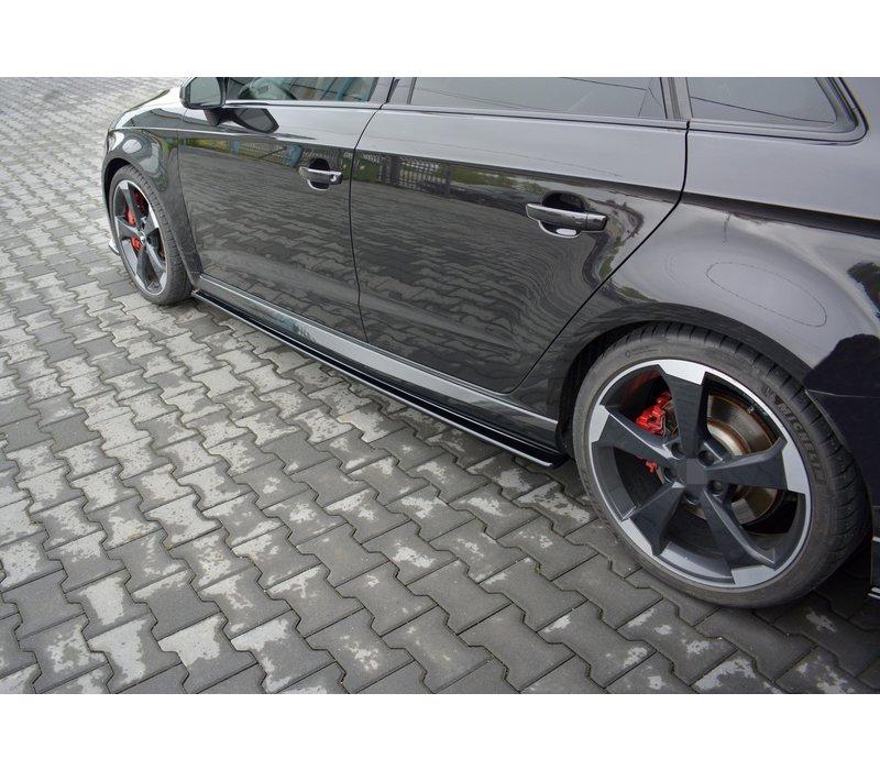 Side skirts Diffuser voor Audi RS3 8V