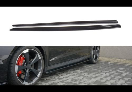 Maxton Design Seitenschweller Diffusor für Audi RS3 8V