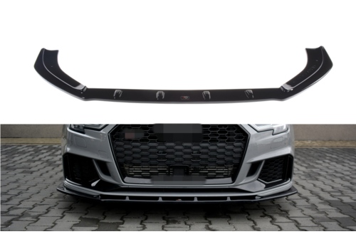 Maxton Design Front splitter V.1 voor Audi RS3 8V