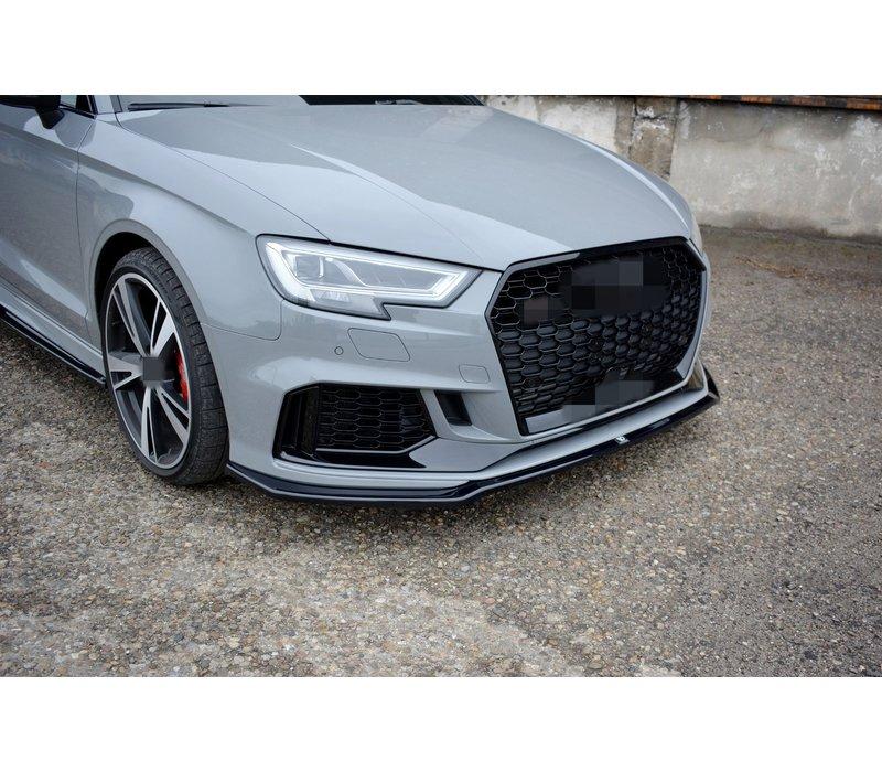 Front splitter V.2 voor Audi RS3 8V