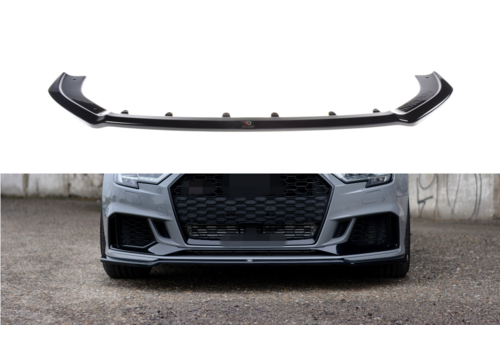Maxton Design Front splitter V.2 for Audi RS3 8V