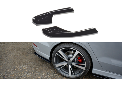 Maxton Design Rear splitter for Audi RS3 8V