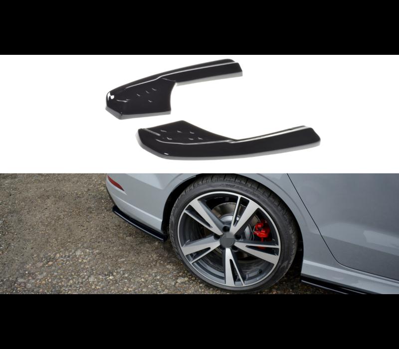 Rear splitter voor Audi RS3 8V
