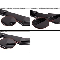 Side skirts Diffuser for Audi RS3 8V