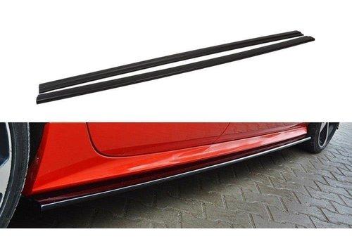 Maxton Design Seitenschweller Diffusor für Audi A7 Facelift S line / S7