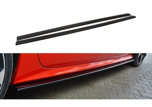 Maxton Design Side skirts Diffuser voor Audi A7 Facelift S line / S7