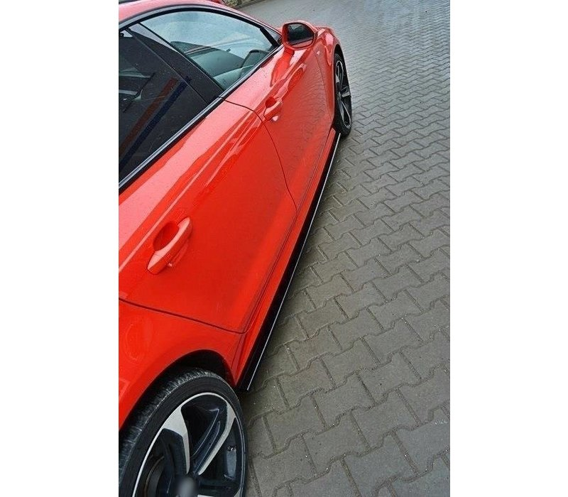 Side skirts Diffuser for Audi A7 Facelift S line / S7