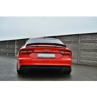 Achterklep spoiler lip voor Audi A7 / S7 / RS7