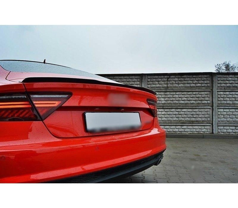 Heckspoiler lippe für Audi A7 / S7 / RS7