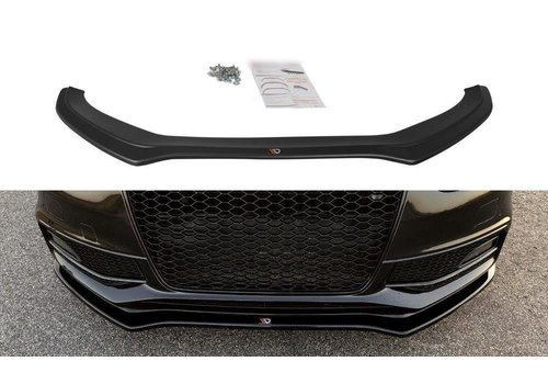 Maxton Design Front splitter V.2 für Audi S4 B8.5 / S line