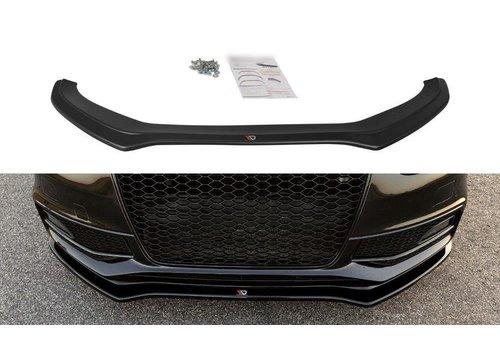Maxton Design Front splitter V.2 voor Audi S4 B8.5 / S line