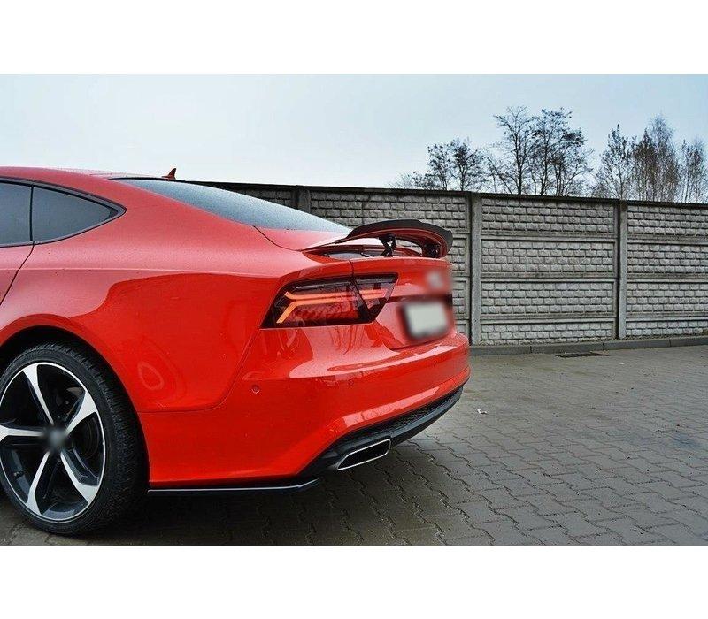 Rear splitter for Audi A7 Facelift S line